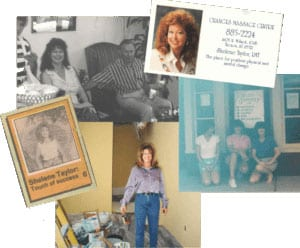 Tucson spa owner collage